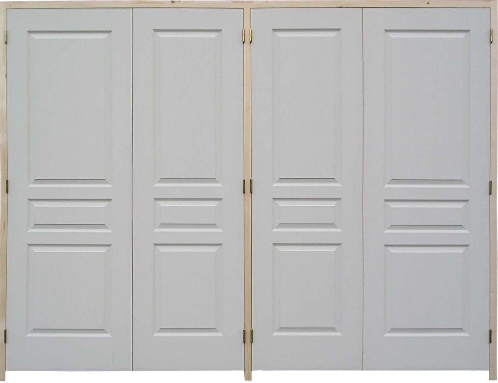porte interieur double battant